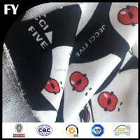 Digital printed polyester terry cloth fabric wholesale