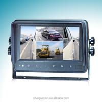 "7"" Waterproof Digital Car Quad Monitor"