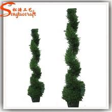 guangzhou toptan ucuz bahçe çiçek kapalı aile modeli ağaç duvar dekor yapay bonsai ağacı modeli
