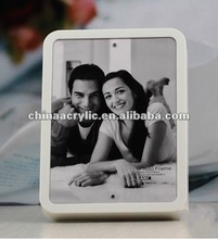 2012 White Acrylic Picture Frame