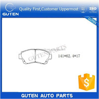 auto foot rest pedal pad brake pedal gas pedal brake pad GDB3155 GDB1142 04465-YZZ63 04465-50090 for germany