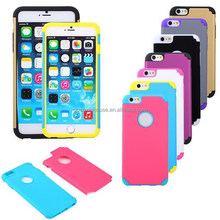 "2015 NEW Arrival 2 IN 1 Rugged Armor Heavy Duty Impact Hybrid Hard Case Cover For iPhone 6 4.7"" Plus 5.5"
