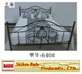 cama de metal simple moderno durable 640