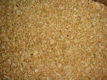 High protein soybean meal for animal feed
