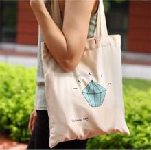 Cheap Eco reusable colorful cheap recycle cotton bag