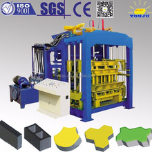 House building QT8-15 brick making equipment with high profit