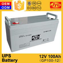 Factory direct sale high quality 12v 100ah ups battery