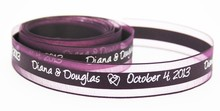 Custom Printed Ribbon With Any logo or font For Weddings Birthdays Favors Gift Wrapping