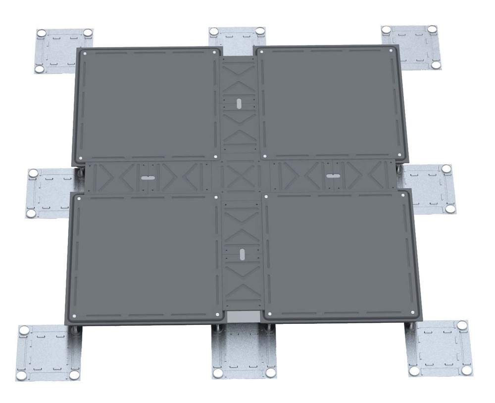 Anti Static Flooring Service : Pvc tile anti static flooring system epoxy coating raised
