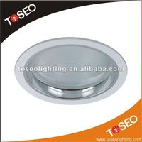 cfl round glass fluorescent light fixture cover