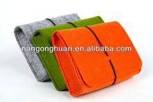 Wool Felt Pouch, Camera Case, Cosmetic Bag