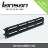 1u 48 port patch panel For RJ45 /RJ11 Network Cabling Accessories