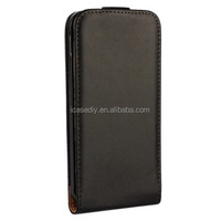 Vertical Flip Genuine Split Leather Case for HTC One M9