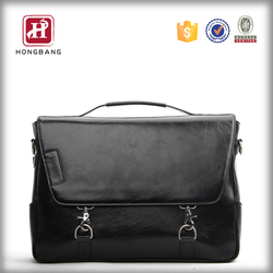 Custom newest travel shoulder leather bags men ,china supplier large capacity tote bag 2015