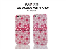 Rubber Aru Case For iPhone 5,For iPhone 5 Case With Many Design