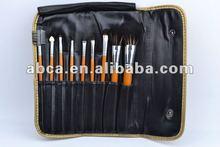 9 pcs 2012 best seller japan cosmetic brushes