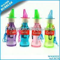 Hottest sale summer toy / Cola whistle bubbles / cola bottle bubbles