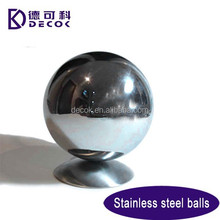 Decorative Garden Large 316L Stainless Steel Hollow Ball Perfect Round