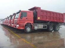 dubai sinotruk howo heavy truck 6x4 dump truck