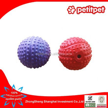 rubber pet toy for dog/pet toy rubber ball/cheap rubber ball dog toy with squeaker wholesale