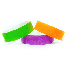 one time use waterproof cheap printed tyvek paper wristbands for events festivals