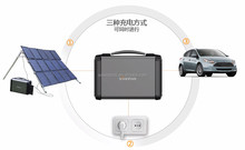 china the most biggest special and portable solar power generator systerm with load power 400w for individual uses