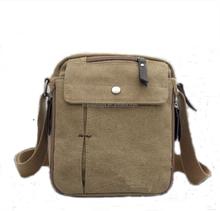 New Men's Canvas Shoulder Messenger Travel Hiking Bag