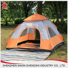 2 3 4 person single double layer 190T polyester outdoor family camping tent
