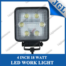 professional car accessories manufacturer,high power led work light,18w led off-road driving headlight