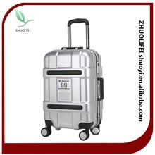 fashion colorful 4 wheels carry on trolley luggage