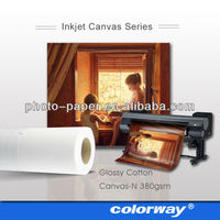 Inkjet cotton canvas roll /Suit for all printers/Painting Canvas/24'' 36'' 42'' 44'' 50''
