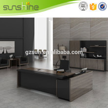 China gold manufacturer Best Choice red cherry executive desk