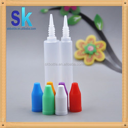 the PEN and UNICORN 30ml PE plastic e liquid bottle with childproof cap from China hot sale 2015