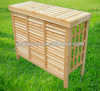 Wooden air conditioner cover with shutter / decorative air conditioner covers / air conditioner cover