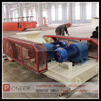 Hot sale and high crushing ratio stone roller crusher machine with ISO,CE!