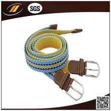 2015 Latest Fashion Design Braided Fabric Belt Sosh Belts