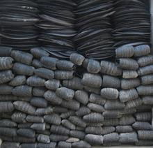 waste scrap tire