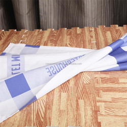 100% cotton wedding monogrammed linen color napkin