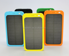 2015 new trendy products portable power bank solar panel 5000mah solar power bank