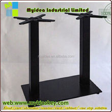 Restaurant Table Legs In Stainless Steel Metal for Dining Coffee Table