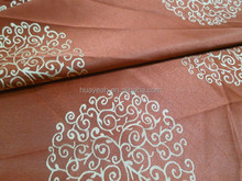 100%polyester red curtain jacquard wedding drapery