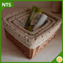 NTS Mini Hand-woven Wicker Storage Bread Baskets for Sale