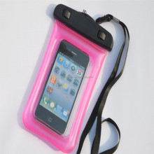 PVC waterproof bag for smart phone mobile phone waterproof set jacket