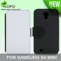Wholesale Sublimation leather wallet case for Samsung galaxy S4 mini