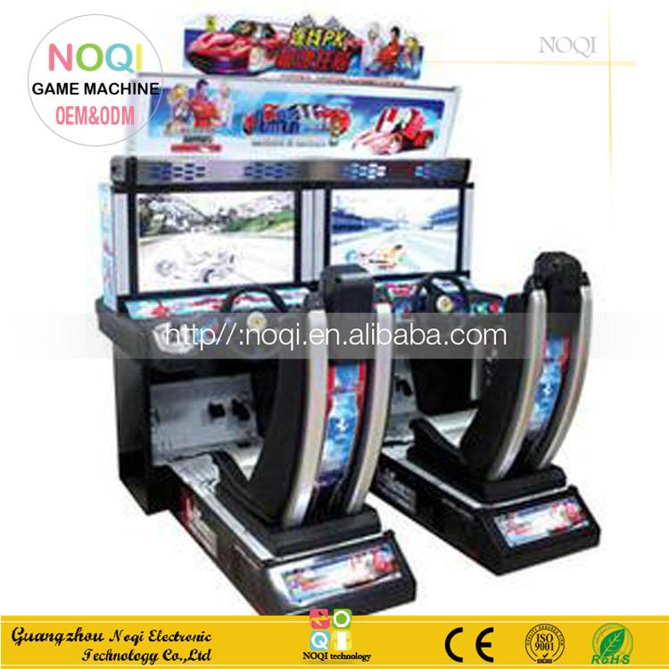 classique 32 39 39 lcd distancer racing pour double joueurs arcade jeu de course de voiture. Black Bedroom Furniture Sets. Home Design Ideas