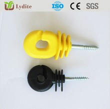 High Strength Wall Top Security electric ring insulators for sheep ISO factory