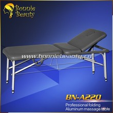 A220 Professional portable folding aluminum massage table