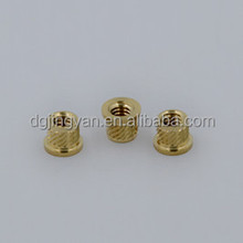 High precision OEM brass insert nut thread inserts nut