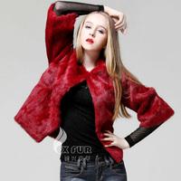 CX-G-A-50A 2014 Rabbit Fur European Fashion Women Winter Coat
