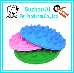 Interesting Silicon Eating Slow Feed Dog Bowl